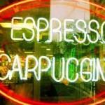 Espresso Cappuccino Sign